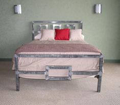 Love the frame Architect Steel Bed Frame by Boltz | Beds | Boltz Steel Furniture