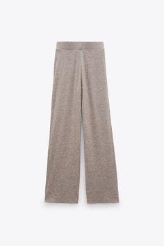 Knit Pants, Knit Shorts, Knit Jacket, 2 Color Combinations, Zara United States, Velvet Tops, Zara Women, Cable Knit Sweaters, Lounge Wear