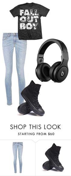 """""""You Wish!"""" by hannah5326 ❤ liked on Polyvore featuring moda, rag & bone e Converse"""