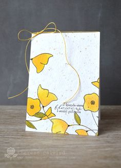 Friends card by Therese Calvird