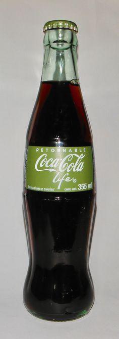 Coca Cola Life 355ml, retornable, México