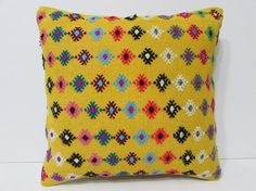 ethnic bedding 18x18 modern pillow case by DECOLICKILIMPILLOWS