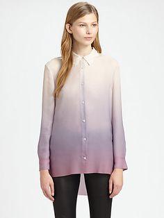 Acne - Ombré Hi-Lo Shirt