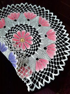 Cream crochet doily Crochet napkins Crochet lace Purple and red Tablecloth Hand-painted 2 in 1 Crochet Tablecloth Pattern, Red Tablecloth, Crochet Basket Pattern, Crochet Carpet, Crochet Home, Hand Crochet, Free Crochet, Lace Doilies, Crochet Doilies