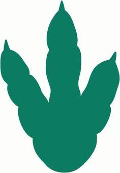 Dinosaur Footprint Template - ClipArt Best