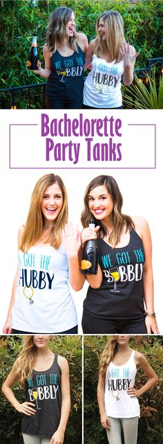Bachelorette Party Tank Tops under $15!