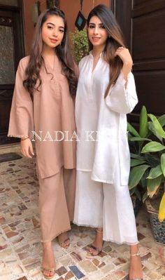 Stylish Dresses For Girls, Stylish Dress Designs, Designs For Dresses, Casual Dresses, Pakistani Fashion Party Wear, Pakistani Fashion Casual, Pakistani Outfits, Simple Pakistani Dresses, Pakistani Dress Design