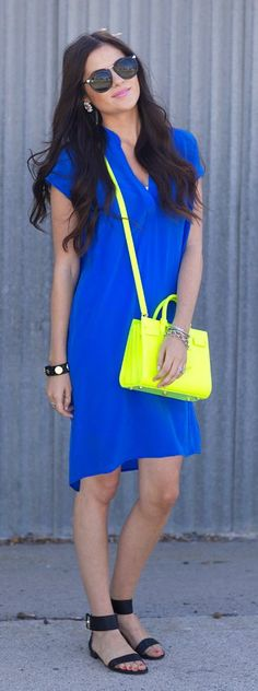 Indigo Dress love the color and style