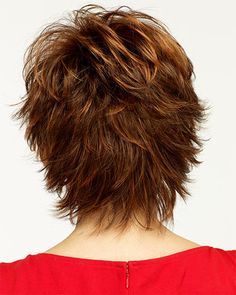 Do you like your wavy hair and do not change it for anything? But it's not always easy to put your curls in value … Need some hairstyle ideas to magnify your wavy hair? Short Shag Hairstyles, Short Hairstyles For Women, Short Haircuts, Popular Haircuts, Black Hairstyles, Lisa Rhinna Hairstyles, Razor Cut Hairstyles, Hairstyle Ideas, Flip Hairstyle