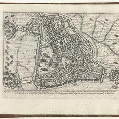 Beleg van 's-Hertogenbosch, 1601, Frans Hogenberg (atelier van), 1601 - 1603 - Rijksmuseum