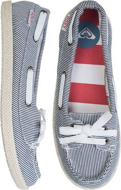 Nautical! @ROXY AHOY ROPE SHOE http://www.swell.com/Womens-View-All-Footwear/ROXY-AHOY-ROPE-SHOE?cs=SP#
