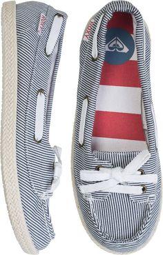 Nautical! @ROXY AHOY ROPE SHOE http://www.swell.com/Womens-View-All-Footwear/ROXY-AHOY-ROPE-SHOE?cs=SP#