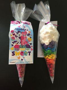 Rainbow Dash Favors | Easy Birthday Party Food Ideas for Kids | DIY Unicorn Party Food Ideas Kids
