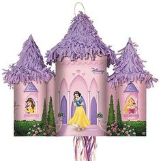 Disney Fairytale Princess Castle Pull-string Pinata by Hallmark