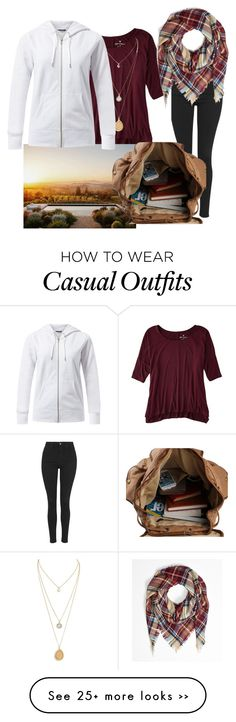 """Casual"" by stylesos4 on Polyvore featuring Topshop and American Eagle Outfitters"