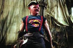 The Late-Great Defensive Lineman, John Matuszak, in the movie, The Goonies.