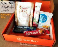February 2014 Bulu Box: Weight Loss Samples #fitness #shop