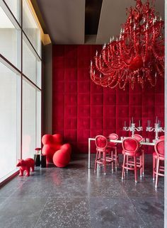 Scarlet Red Color Trends for 2018