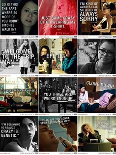 Love these Orphan black quotes #OrphanBlack #CloneClub