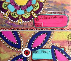 Mail art by Tandy of ATC's For All. Click to view original
