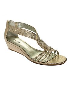 Alfani Women's Shoes, Genesis Wedge Sandals    Web ID: 760495
