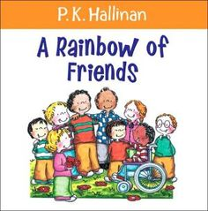 """A Rainbow of Friends"" demonstrates the timeless lesson of acceptance of others. This heartwarming book explains that each person is unique and adds immensely to the lives of others. Hallinan's verses encourage children to respect the disabled, to help those in trouble, and to reach out to the people around them. Full color. Click here to learn more about the Conscious Discipline® Power of Unity: http://consciousdiscipline.com/about/seven_powers_for_conscious_adults.asp"
