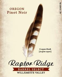Each vintage, the Raptor Ridge winemaking team selects barrels from an array of vineyard-specific cuvees that reflect a balanced representation of classic Oregon Pinot Noir. Heads up: This post may contain affiliate links. If you purchase something through one of those links, you won't pay a penny more, but we may receive a small commission which helps us to keep drinking more wine. Cheers!