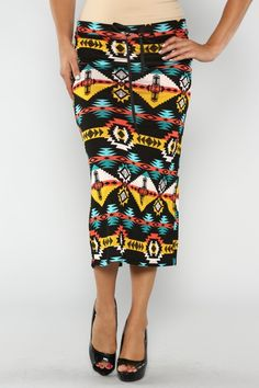 Southwestern Print Skirt-Plus #America #LaborDay #Summer #Fashion #Shop #Holiday #Summer #EndlessSummer #ootd #wiwt