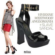 #MelissaSlaveSandal #VivienneWestwood #Anglomania #WeAreFlowers