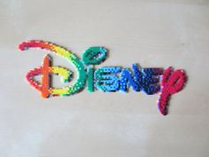 Disney Logo perler beads by msSUPERGIRLX3 on deviantart