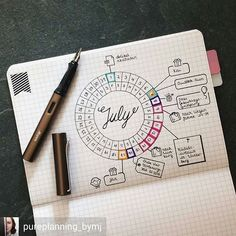 I love the look of this. I'm not sure if it would work for me, but I might give it a try.  @Regrann from @pureplanning_bymj -  Getting ready for July. Thanks to @decadethirty for the great layout inspiration . #bulletjournal#bujojunkies#bulletjournalcommunity#planner#plannercommunity#plannergirl#filofax#filofaxing#stationary#wearebujo#germanbujojunkies#plannerstamps#sweetstampshop#studiol2e#july #Regrann