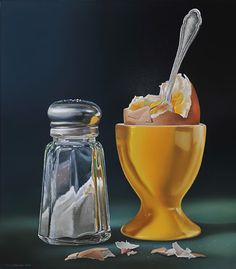 Super realistic oil painting of food by Tjalf Sparnaay Hyper Realistic Paintings, Realistic Drawings, Tjalf Sparnaay, Hyperrealistic Art, Food Artists, Food Painting, Paintings Of Food, Oil Paintings, Food Drawing