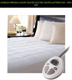 Sunbeam Premium Luxury Quilted Electric Heated Mattress Pad - King Size #tech #products #parts #gadgets #fpv #plans #shopping #drone #racing #kit #pad #heating #a #camera #technology