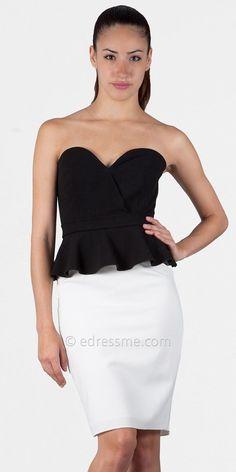 black_and_white_peplum_bustier_cocktail_dresses_by_jill_stuart_3.jpg (800×1600)