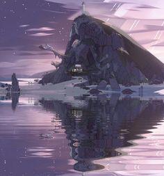Steven Universe love the water effect.