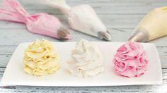 Receta de Buttercream o crema de mantequilla: trucos y consejos - My Karamelli Cupcake Frosting, Buttercream Frosting, Cupcake Cakes, Frosting Recipes, Cake Recipes, Yummy Drinks, Delicious Desserts, Cap Cake, Mini Pizza