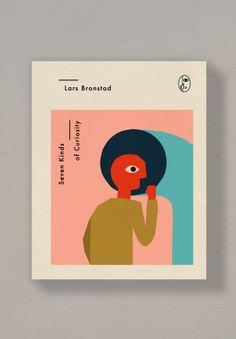 Scandinavian Crime Novel Covers by Anna Kövecses   Minimo Graph