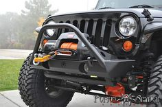 Poison Spyder RockBrawler Bumpers!  Want this!!!