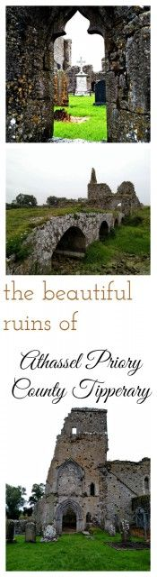 The Beautiful Ruins of Athassel Abbey in Tipperary. Ireland travel tips | Ireland vacation |IrelandFamilyVacations.com