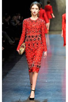 #MFW Inverno 2014 - Dolce & Gabbana