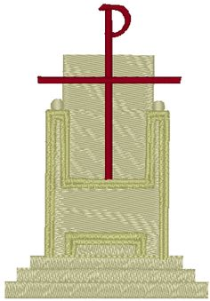 The Mercy Seat Embroidery Design. Atop the ark was the mercy seat. The mercy seat was made of pure gold (Exodus 25:17). Upon it would be sprinkled the blood of the Lamb by the High Priest (Leviticus 16:14), once a year, in order to redeem Israel of its sins.  When our Lord manifested Himself within the Holy of Holies, it was above the mercy seat (Leviticus 16:2), much like a king sitting upon His throne.