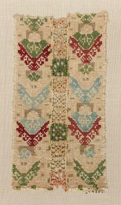 Skirt decoration (one of two fragments) Greek (Cyclades, Anaphe or Siphnos) century Object Place: Anaphe or Siphnos, Cyclades, Greece Museum of Fine Arts, Boston Folk Embroidery, Hand Embroidery Patterns, Cross Stitch Embroidery, Greek Traditional Dress, Greek Design, Textiles, Museum Of Fine Arts, Needlework, Bohemian Rug