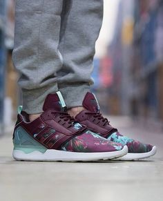 2db7265fe3bcd adidas Originals ZX 8000 Boost  Floral Latest Trainers