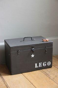 Caisse de rangement lego - lapetitebelette