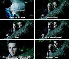 #TeenWolf #5x02 | Parasomnia...anyone else notice that liam is like scott when he was smelling danny