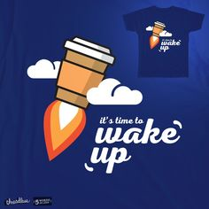 it's time to wake up on Threadless