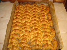 See related links to what you are looking for. Croissant Bread, Jacque Pepin, Torte Cake, Hungarian Recipes, Hungarian Food, Baking And Pastry, Bread And Pastries, Small Cake, Winter Food