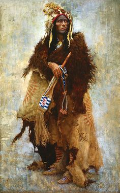 Howard Terpning | Howard Terpning - Badger Medicine