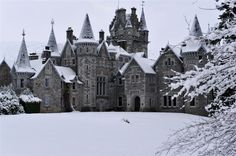 Ardverikie House, on the shores of Loch Laggan in the Cairngorms National Park.