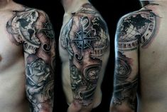 Today, millions of people have tattoos. From different cultures to pop culture enthusiasts, many people have one or several tattoos on their bodies. While a lot of other people have shunned tattoos… Map Tattoos, Retro Tattoos, Feather Tattoos, Trendy Tattoos, Tattoos Pics, Henna Tattoos, Tattoo Drawings, Tribal Tattoos, Tatoos